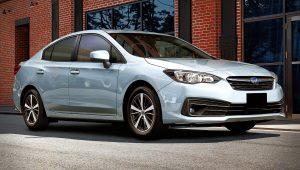 2020 Subaru Impreza Premium Sedan Images