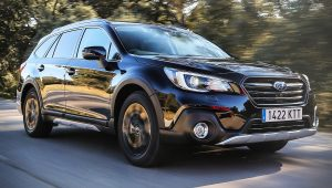 2020 Subaru Outback Black Images Pictures