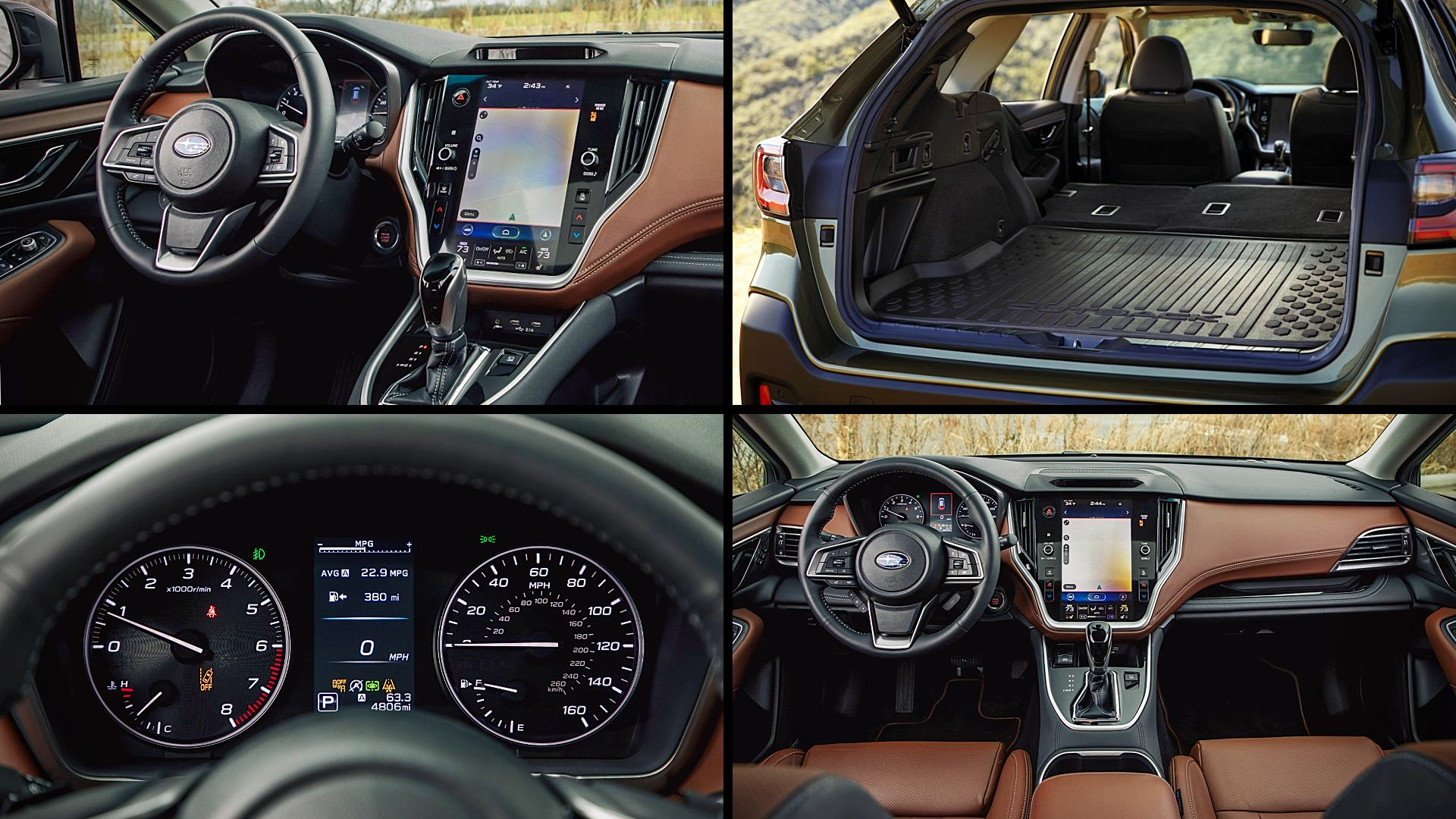 2020 Subaru Outback Interior Colors Pictures