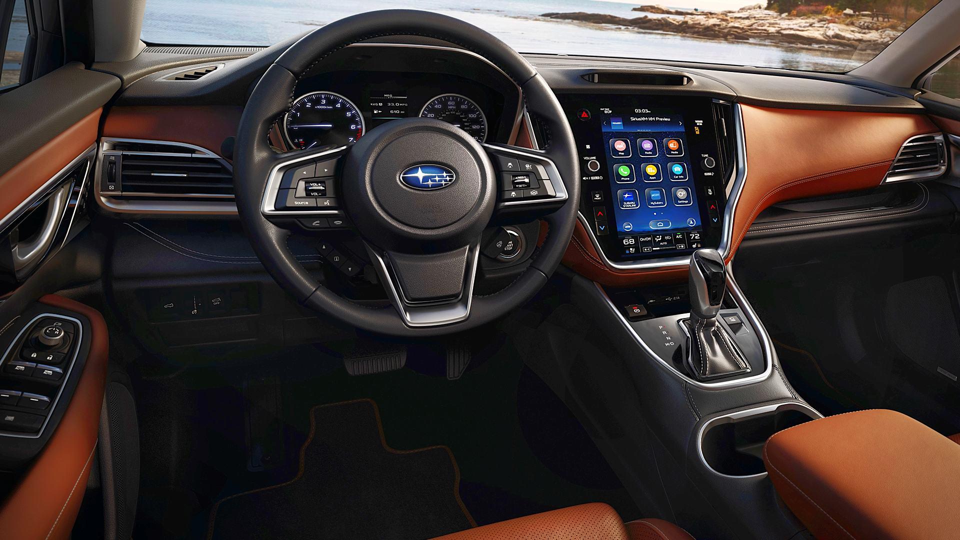 2020 Subaru Outback Interior Inside