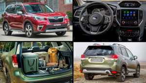 2020 Subaru SUV Models Forester Colors Images