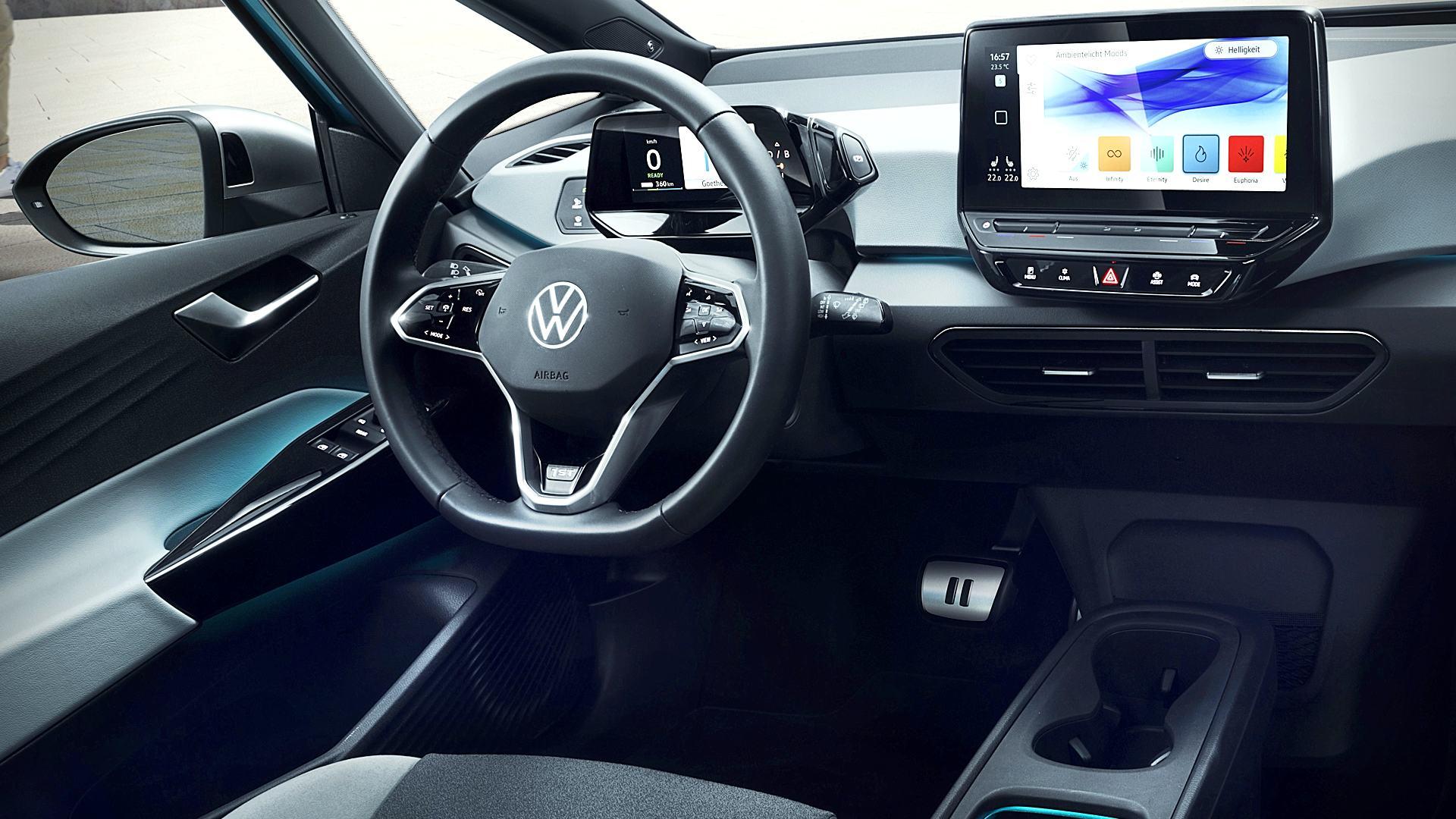 2020 Volkswagen ID 3 Interior Inside