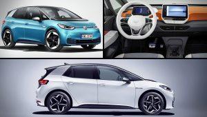 2020 VW Hatchback ID 3 Electric Car