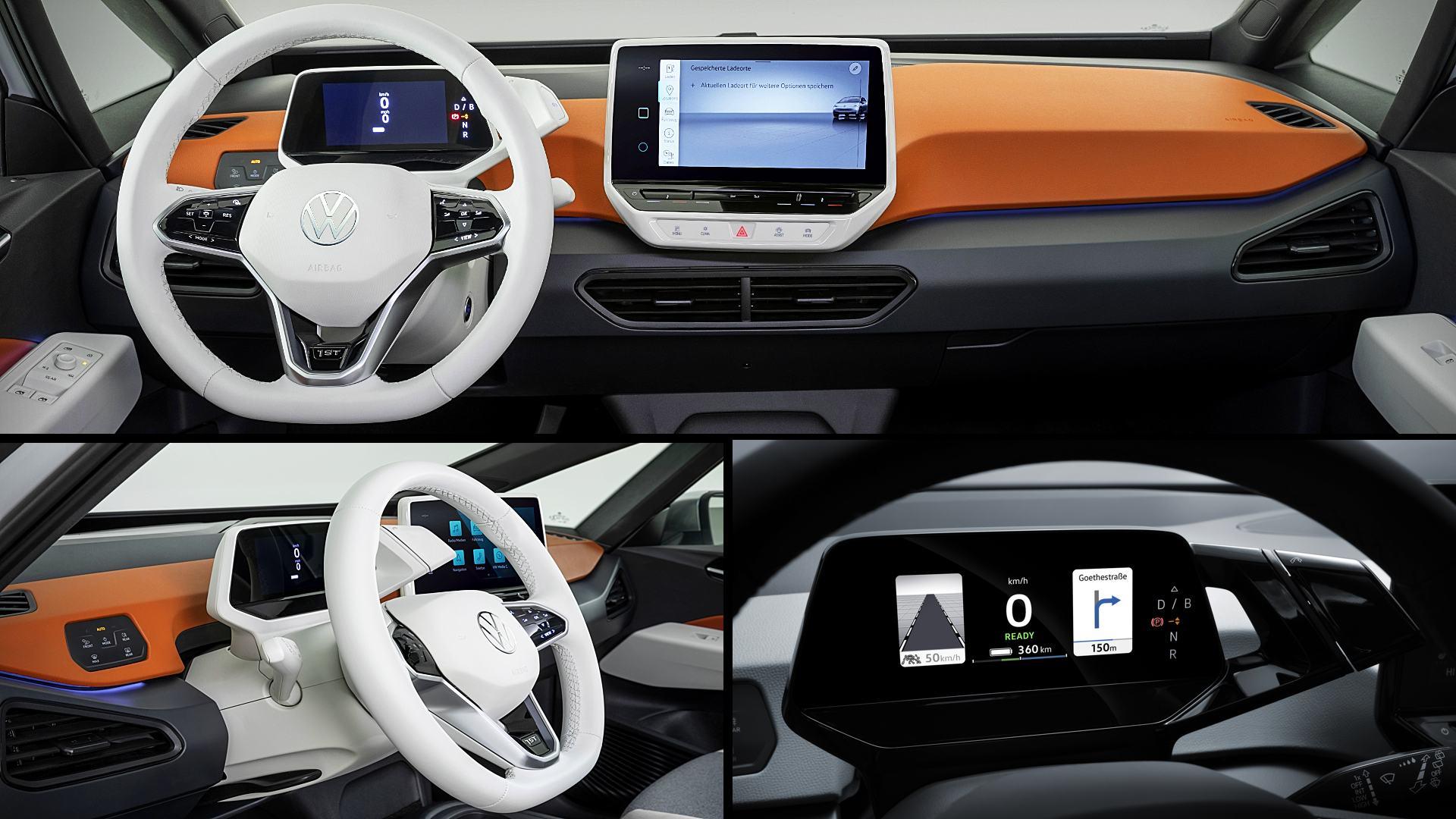2020 VW ID 3 Interior Images