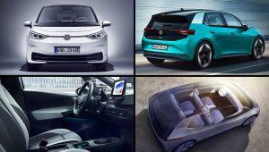 2020 VW ID 3 USA Photos