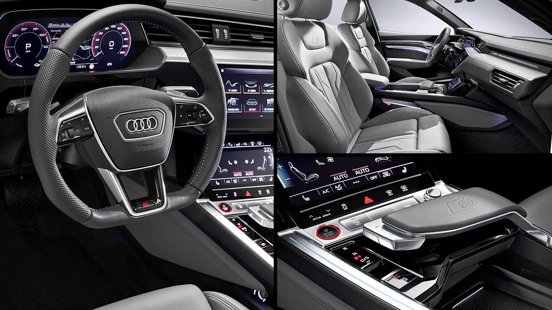 2021 Audi E-Tron Sportback Interior