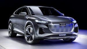 2021 Audi Q4 E-Tron 1