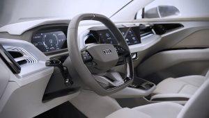 2021 Audi Q4 E-Tron Interior Inside