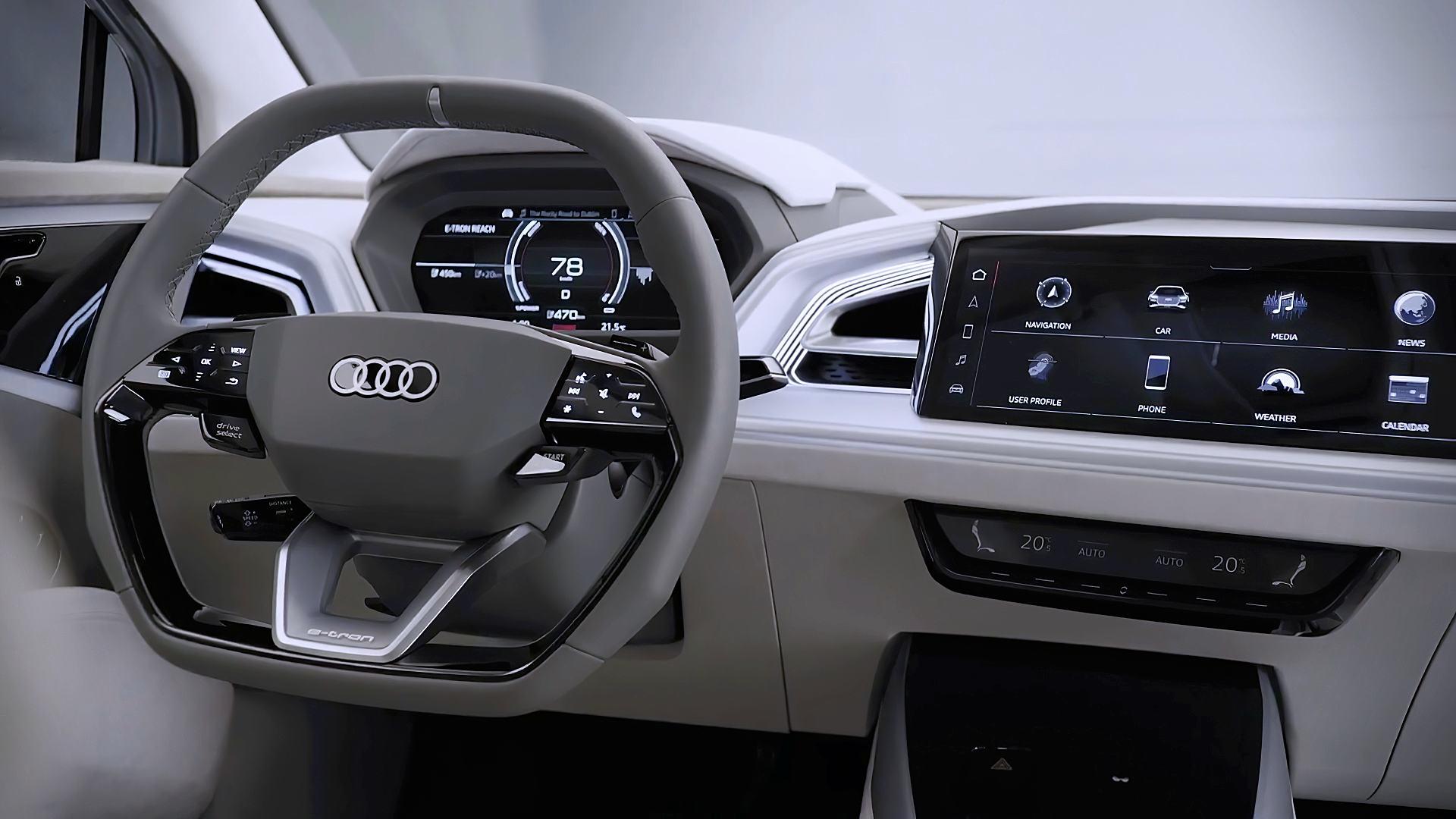 2021 Audi Q4 Interior Images