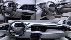 2021 Audi Q4 Sportback E-Tron Inside Interior