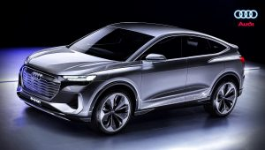 2021 Audi Q4 SUV E-Tron Electric Car