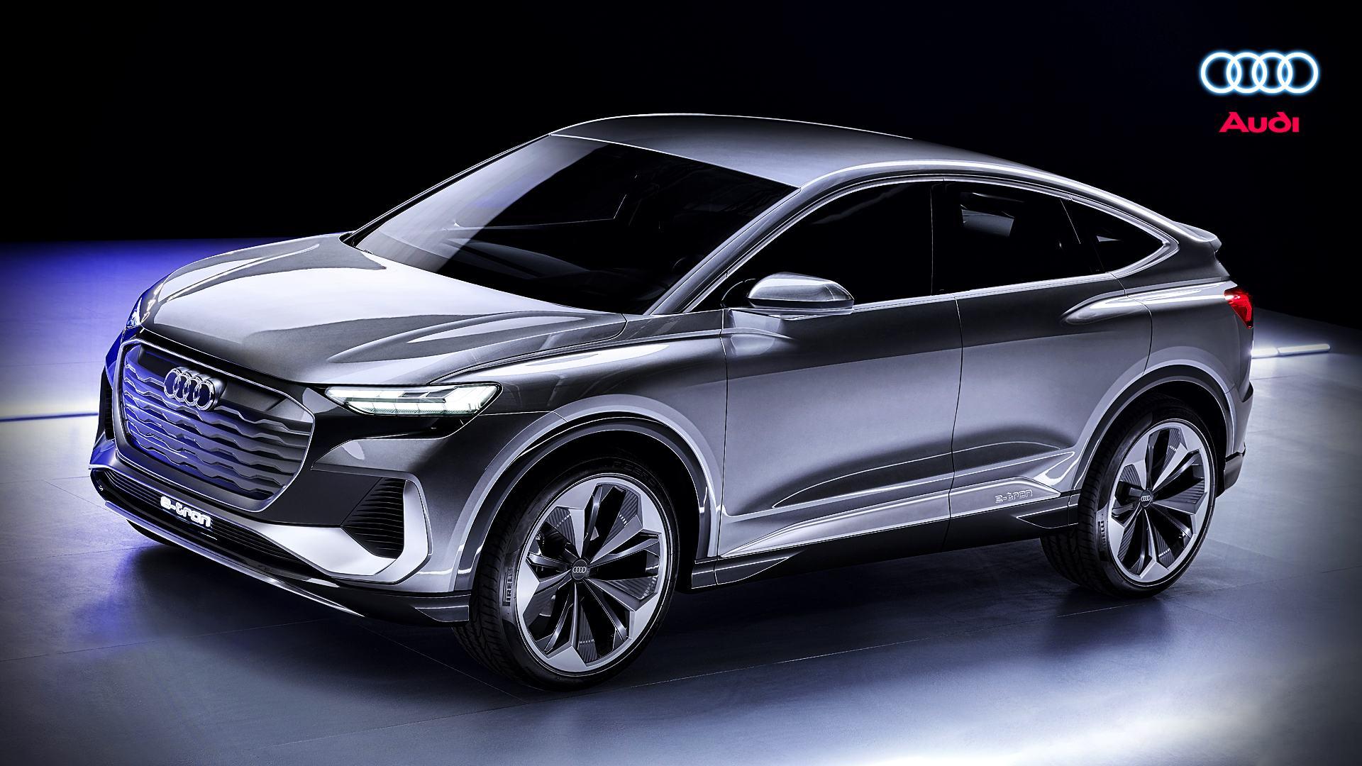 2021 Audi Q4 Suv E Tron Electric Car