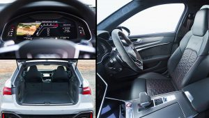 2021 Audi RS6 Avant Interior Images