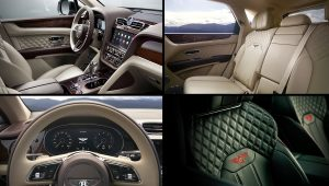 2021 Bentley Bentayga Interior Images
