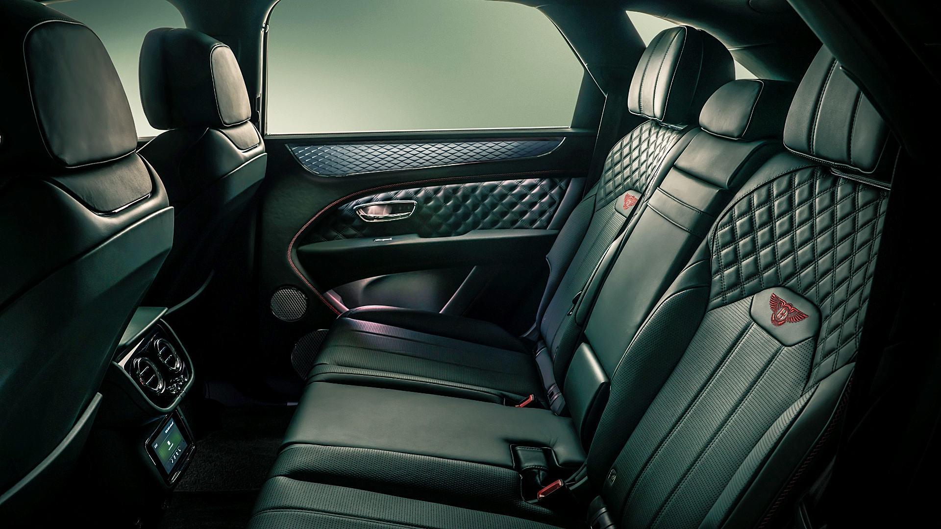 2021 Bentley Bentayga Interior Inside