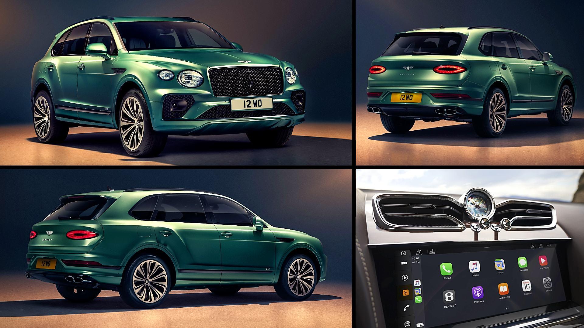 2021 Bentley SUV Bentayga