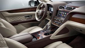 2021 Bentley SUV Interior