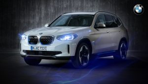 2021 BMW iX3 Car Wallpaper Hd