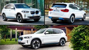 2021 BMW iX3 Electric SUV
