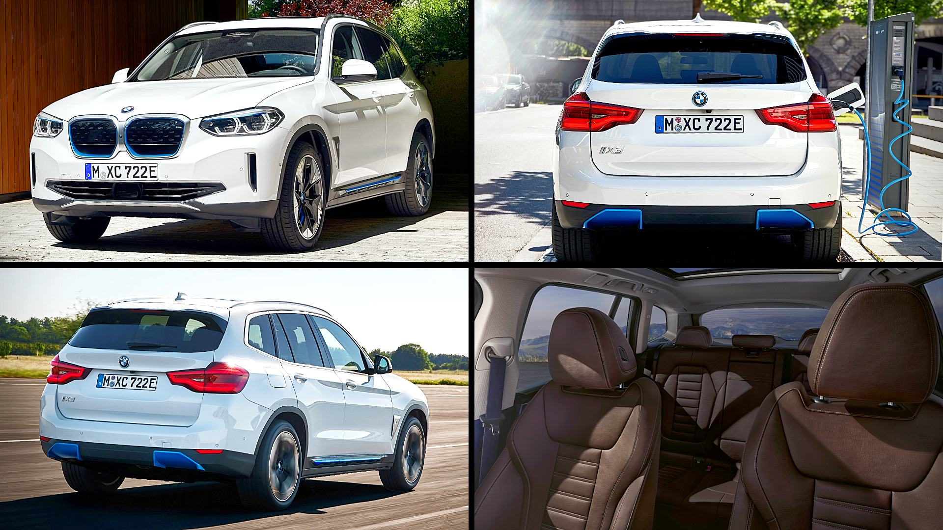 2021 BMW iX3 Electric Images Pictures