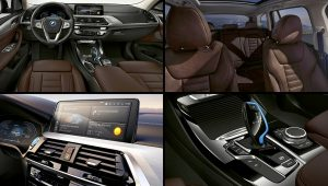 2021 BMW iX3 Electric Interior Colors