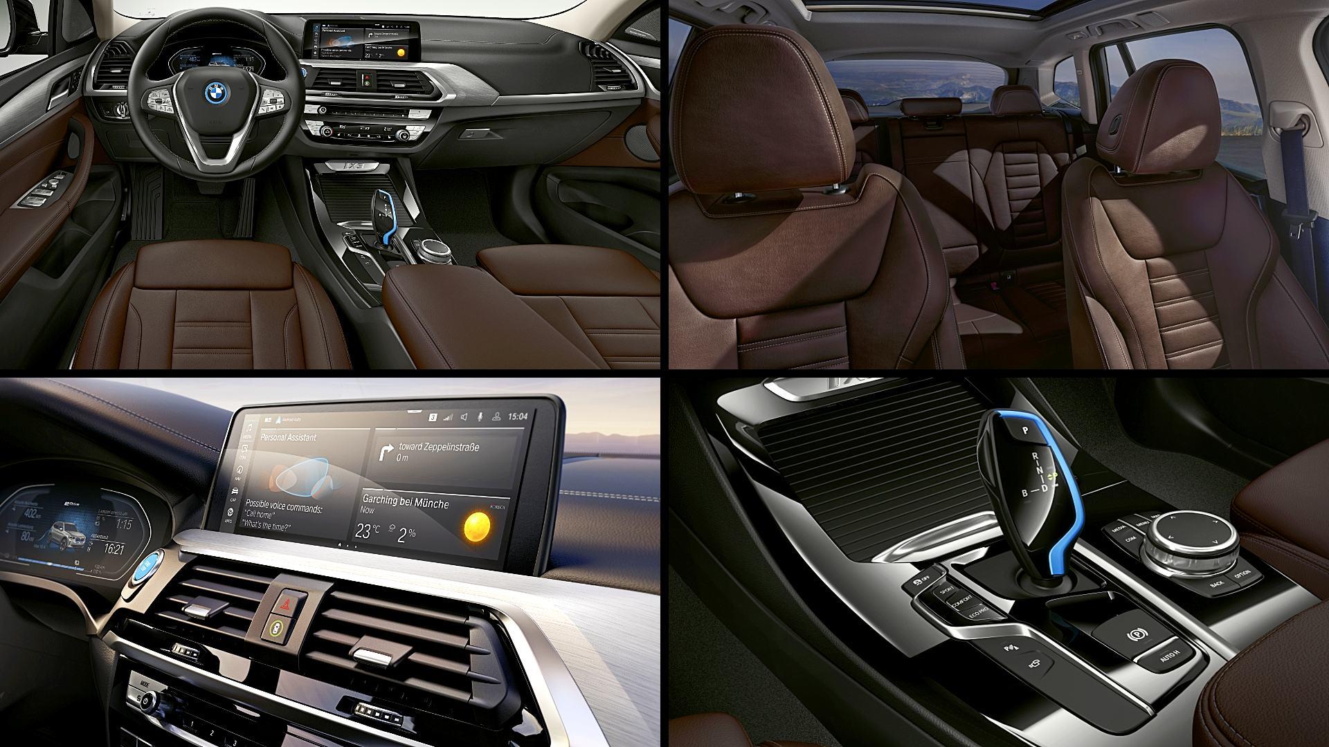 2021 BMW iX3 Electric Interior Colors