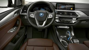 2021 BMW iX3 Interior Images