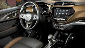 2021 Chevrolet TrailBlazer Interior Inside