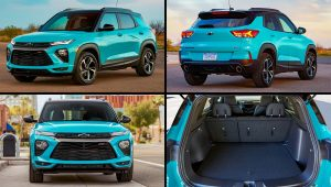 2021 Chevy TrailBlazer RS Colors Images