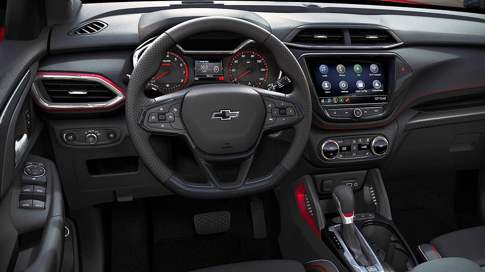 2021 Chevy TrailBlazer RS Interior Colors