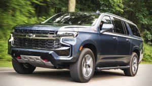Chevy SUV Models 2021 Suburban Z71