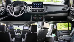 2021 Chevy Suburban Z71 Interior Inside