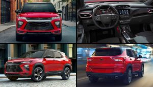 2021 Chevy SUV Models TrailBlazer RS