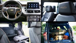 2021 Chevy Tahoe High Country Interior Inside