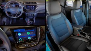 2021 Chevy TrailBlazer Interior Pictures