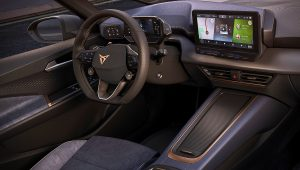 2021 Cupra el-Born Interior
