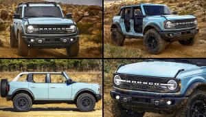 2021 Ford Bronco 4 Door Car Pics