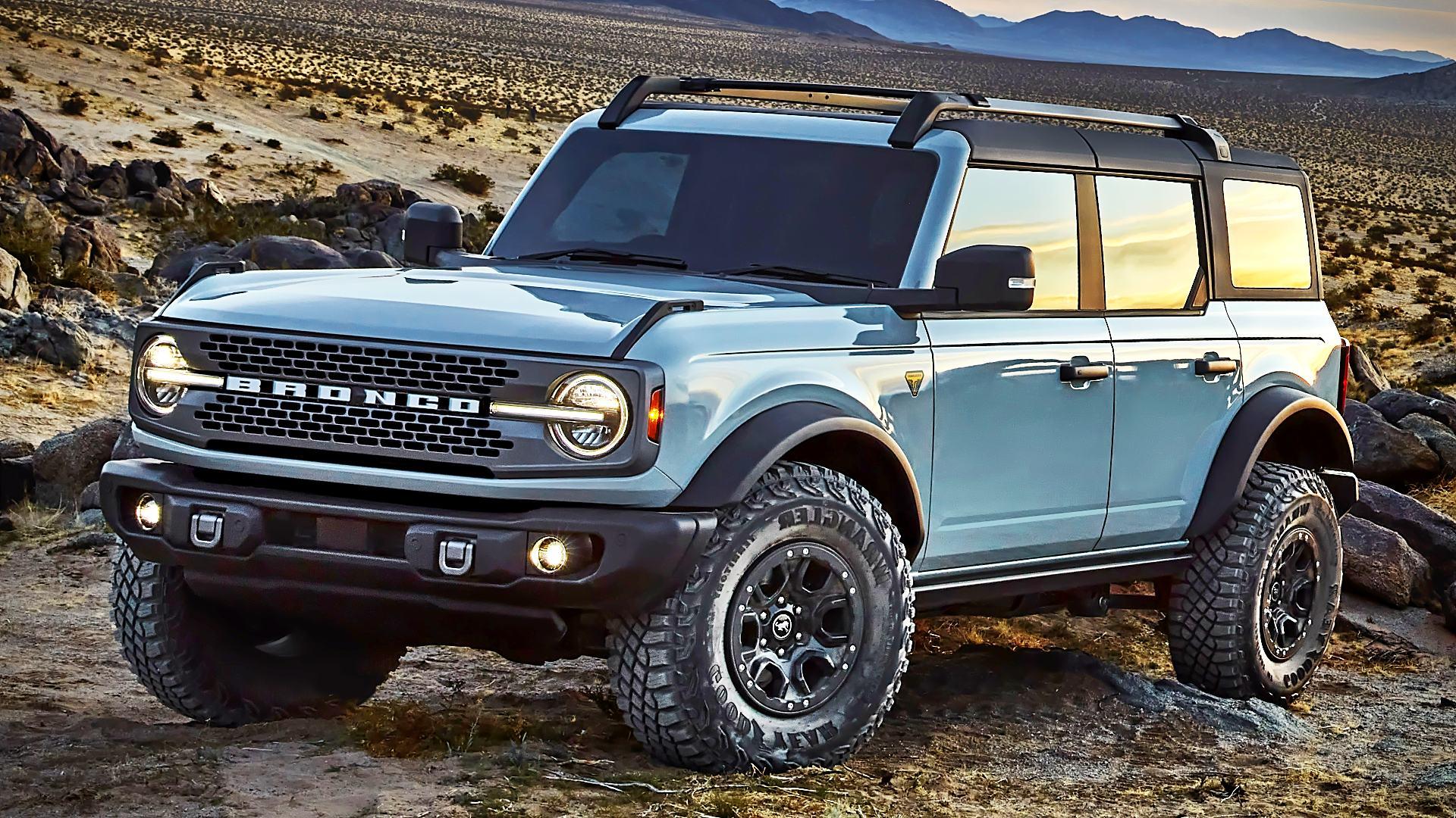 2021 Ford Bronco 4 Door Pictures