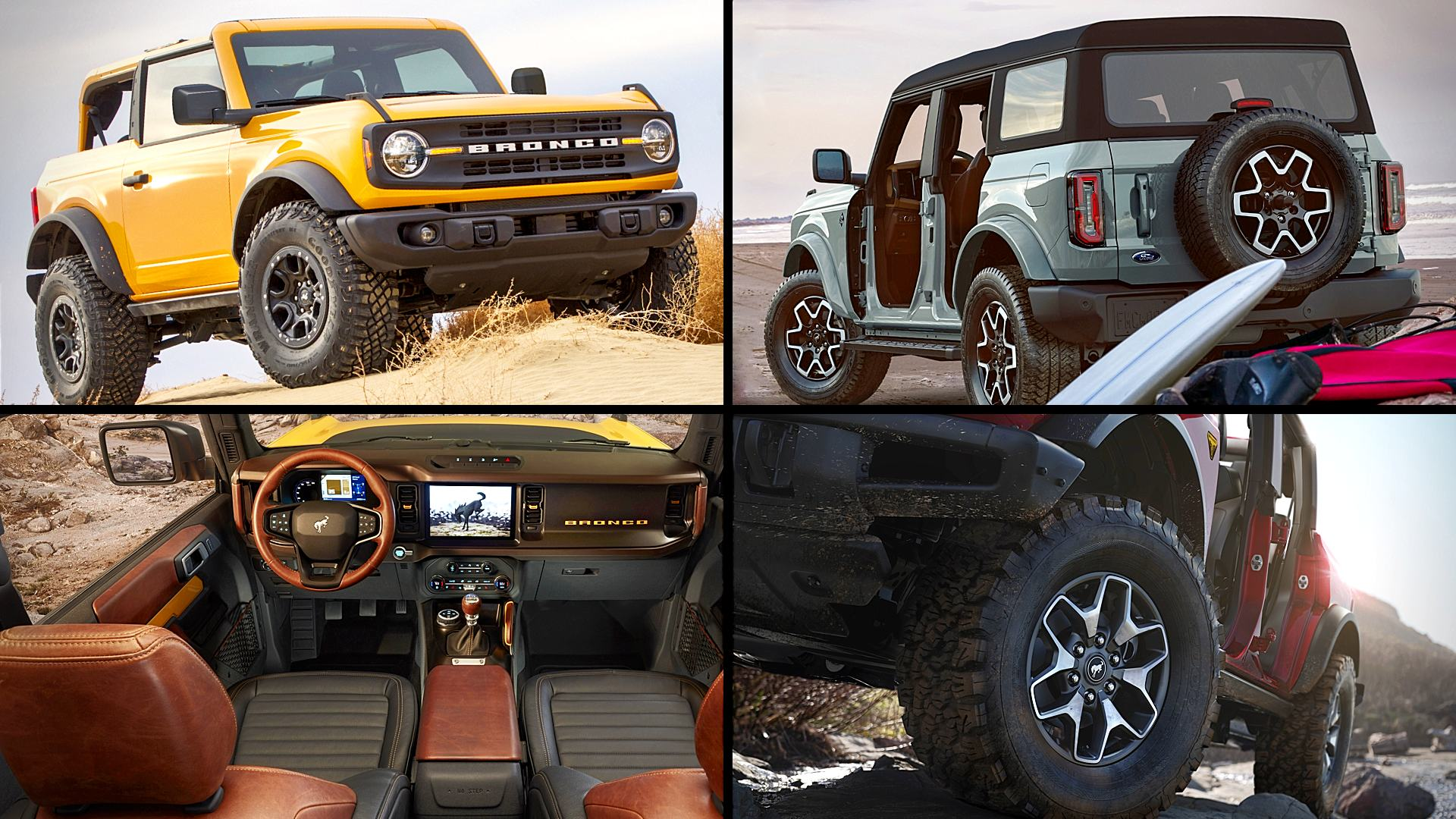 2021 Ford Bronco Colors Pictures Images Photos