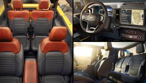 2021 Ford Bronco Interior  Colors Images