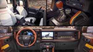 2021 Ford Bronco Interior Inside