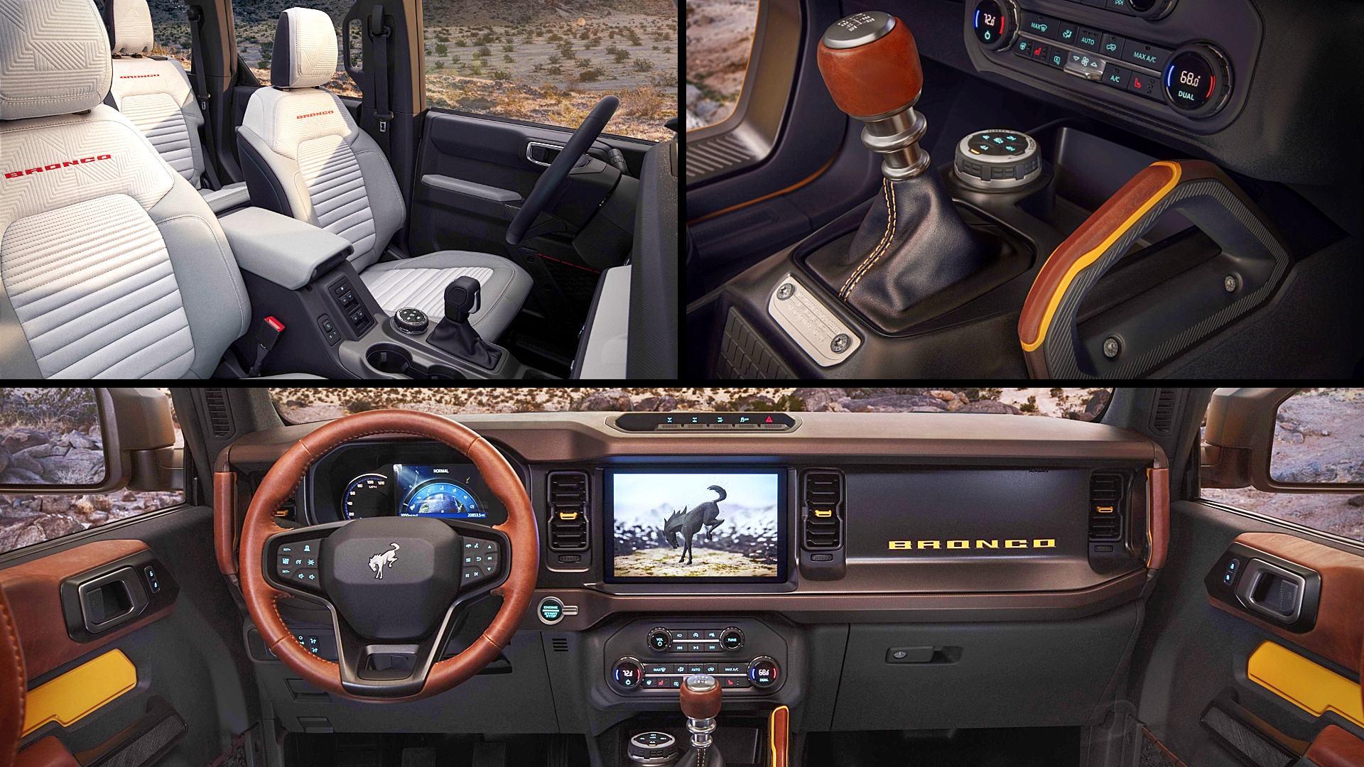 2021 Ford Bronco Interior Inside