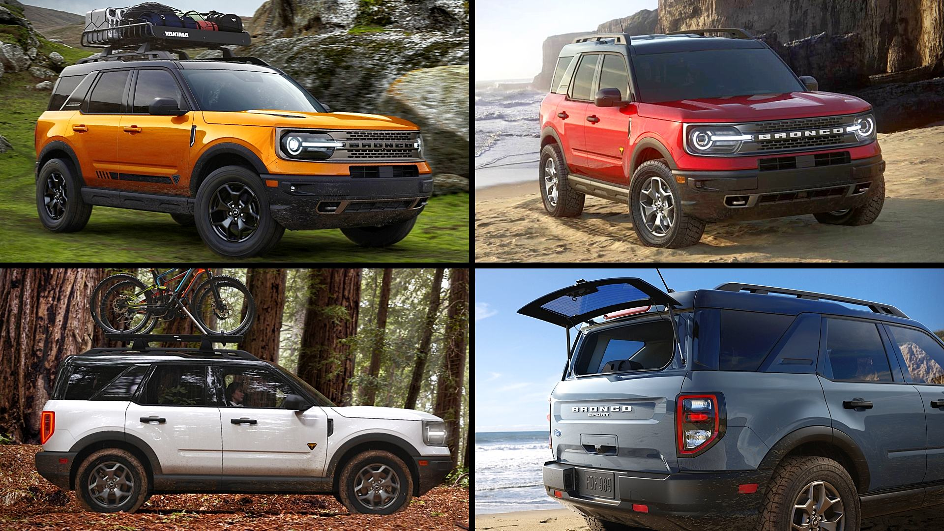 2021 Ford Bronco Sport Colors Pictures