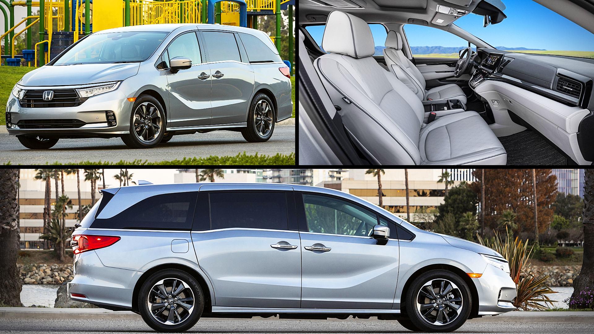 Honda Odyssey Models Best Minivan 2021
