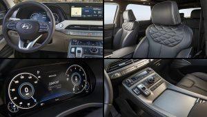 2021 Hyundai Palisade Calligraphy Interior Images