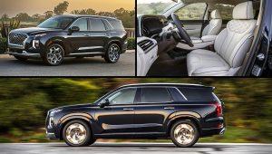 2021 Hyundai SUV Models Palisade Images