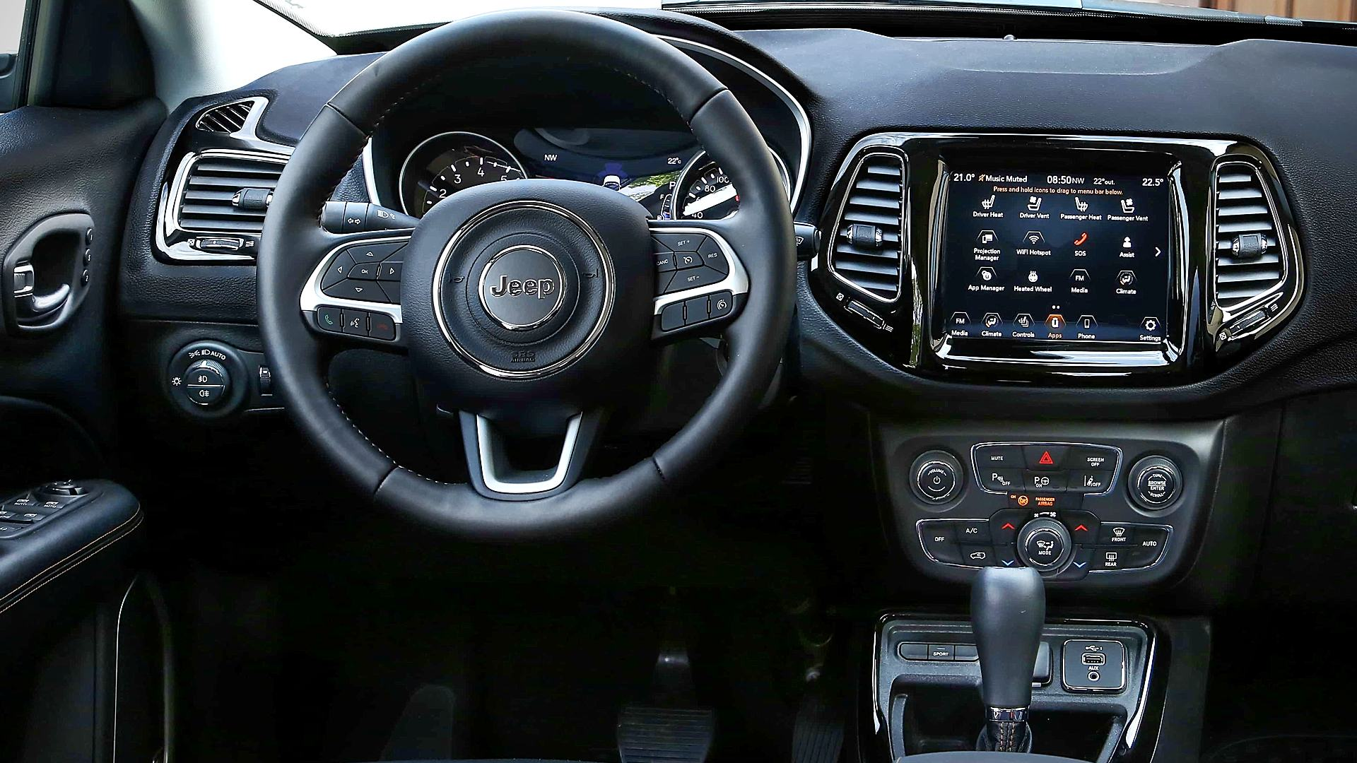 2021 Jeep Compass Interior Images