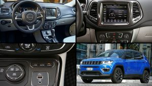 2021 Jeep Compass Limited Interior Images