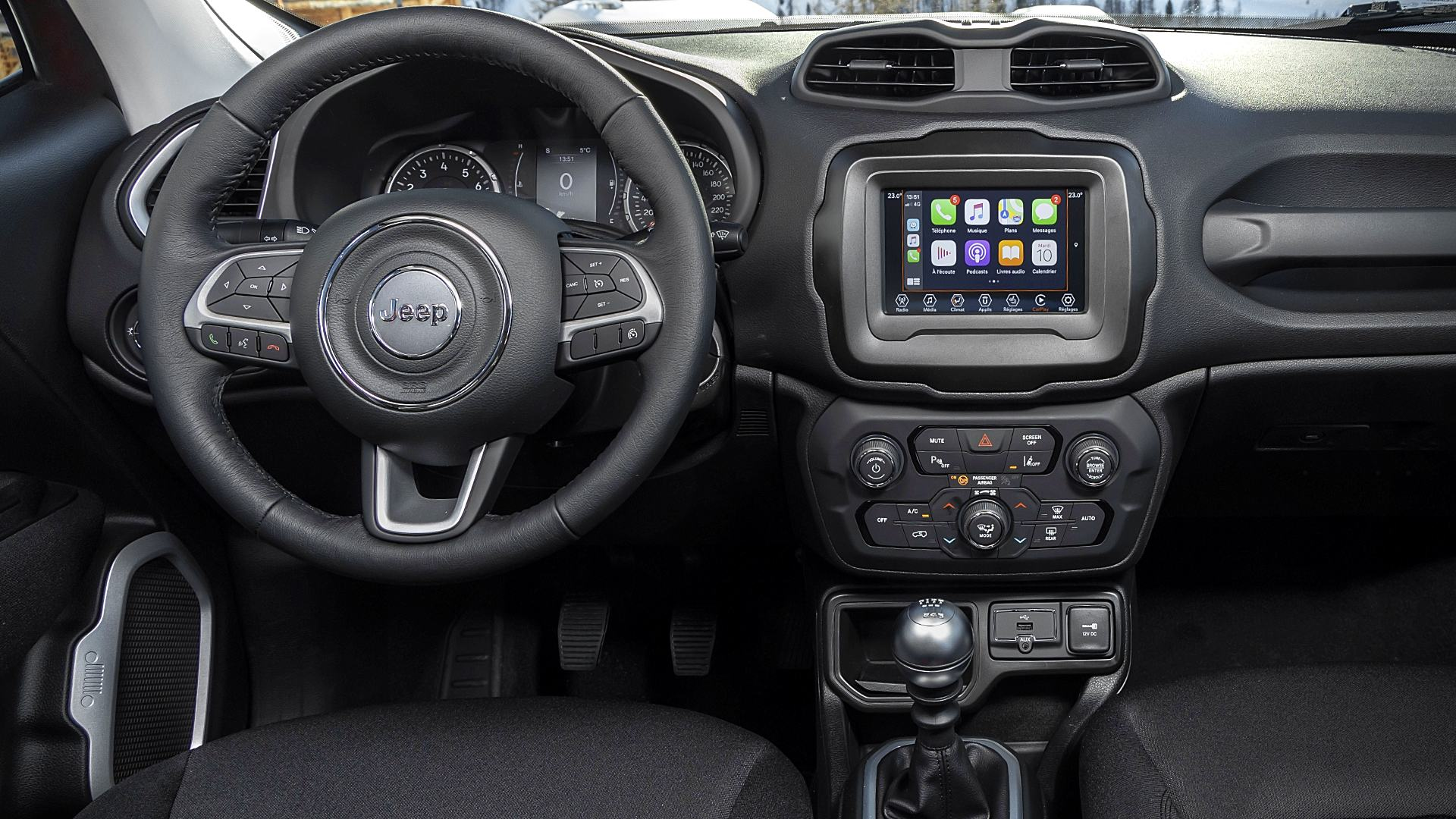 2021 Jeep Renegade Interior Inside