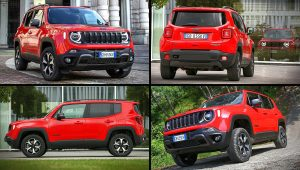 2021 Jeep Renegade Trailhawk Red Images